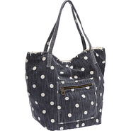 Heartland Shoulder Bag Blue Black - Roxy Fabric Ha