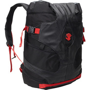 Stovepipe Duffle Laptop Backpack 18  Black Ballixt