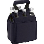Six Pack Neoprene Tote - Black