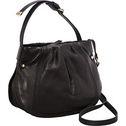 Blanca Crossbody Black - Perlina Leather Handbags