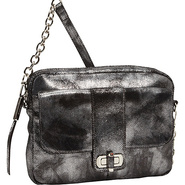 Harlow II Tech Case Silver - B. Makowsky Leather H