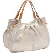 Blanca Tote GOLD - Perlina Leather Handbags