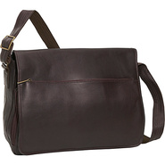 Laptop Messenger Bag Cafe - David King & Co. Messe