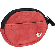 Suede Token Coin Purse Red - TOKEN Ladies Small Wa