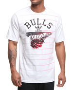 Men Chciago Bulls Rainin Tee White Xx-Large