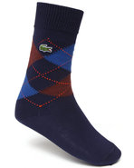 Men Argyle Socks Navy
