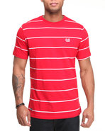 Mo7 Men Jersey Crew Neck Tee Red Medium