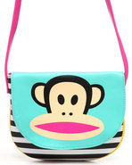 Women Paul Frank Flap Crossbody Bag Pink