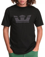 Men Icon Tee Black Large