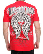 Men Efan Tee Red Xx-Large