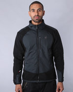 Men Nomadic Wolf Zip-Up Fleece Black Xx-Large