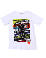 Boys Sneaker Head Tee (8-20) White Medium