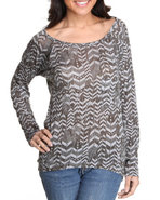 Women Knit Tops Olive Small