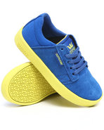 Boys Westwood Royal Blue Suede/Canvas Sneakers Blu