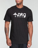 Lrg Men Higher Plains Tee Black Small