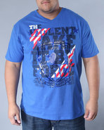 Men A New Creation Tee Blue 3X