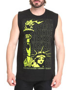 Men Liberty Stack Tank Black Small