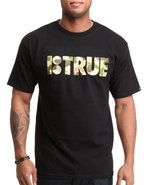 Men B True Tee Black Large