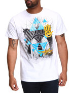 Men Miskeen Hand Tee White Medium