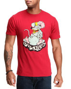 Men Rat S/S Tee Red Xx-Large