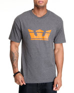 Men Icon Tee Charcoal X-Large