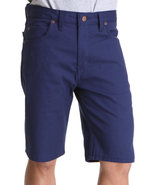 Men 11'' Slim Fit 5-Pocket Twill Short Navy 36