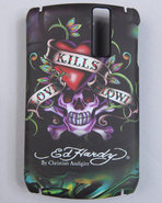 Men Love Kills Slowly Blackberry 8300 Cover Black