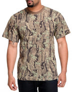 Drj Army/Navy Shop Men Smokey Branch Camo Tee Camo
