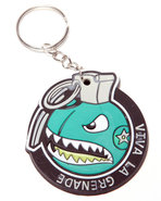 Men Recruiter Keychain Teal
