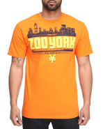 Men Zoo Dmc Tee Orange Large