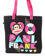Women Paul Frank Junior Core Colors Tote Bag Black