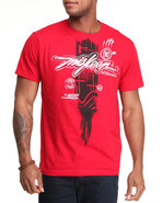 Men Miskeen Originals Tee Red Large