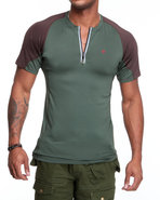 Men Bravara S / S Performance Top Green Xx-Large