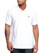 Men Solid Performance Polo White Medium