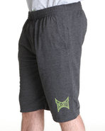 Tapout Men Tapout Fleece Sweat Short Grey Large