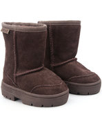 Girls Laguna Toddler Suede Boot Brown 5 Toddler