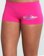 Women Smooches Ab Seamless Boyshort Pink Medium