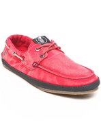 Men Layback Loafers Red 9