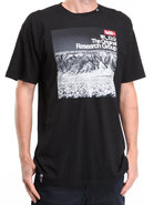 Lrg Men Arctic Trail Slim-Fit S/S Tee Black Small