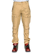 Men Utilitarian Cargo Pants Khaki 30
