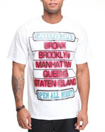 5Ive Jungle Men Neon Tee White Medium