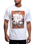 Hall Of Fame Men Knock Out 4.0 Tee White Medium