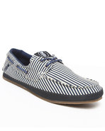 Men Layback Loafers Blue 8