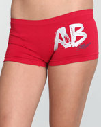 Women Fashionating Seamless Boyshor Red Small