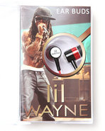 Drj Music Merch Men Lil Wayne In-Ear Buds Headphon