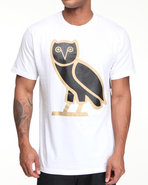 Drj Underground Men Owl A Tee White Small