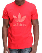 Men Trefoil Tee Red Large