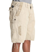 Men Quick Wit Cargo Shorts Khaki 38