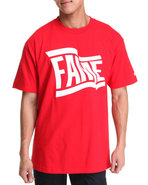 Hall Of Fame Men Wavy Tee Red Xx-Large