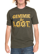 Akoo Men Gimme The Loot Tee Green Large